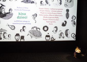 """Fragment """"Wiedźm"""" czyta Anna Dziewit-Meller - Kino Praha"""