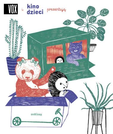 Kino Dzieci VOX ulotka-PRZOD