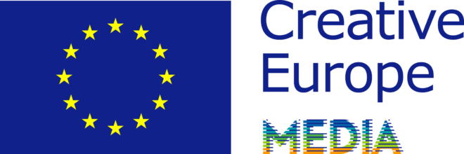 Creative Europe MEDIA ang blue